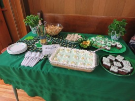 St. Patrick's Table