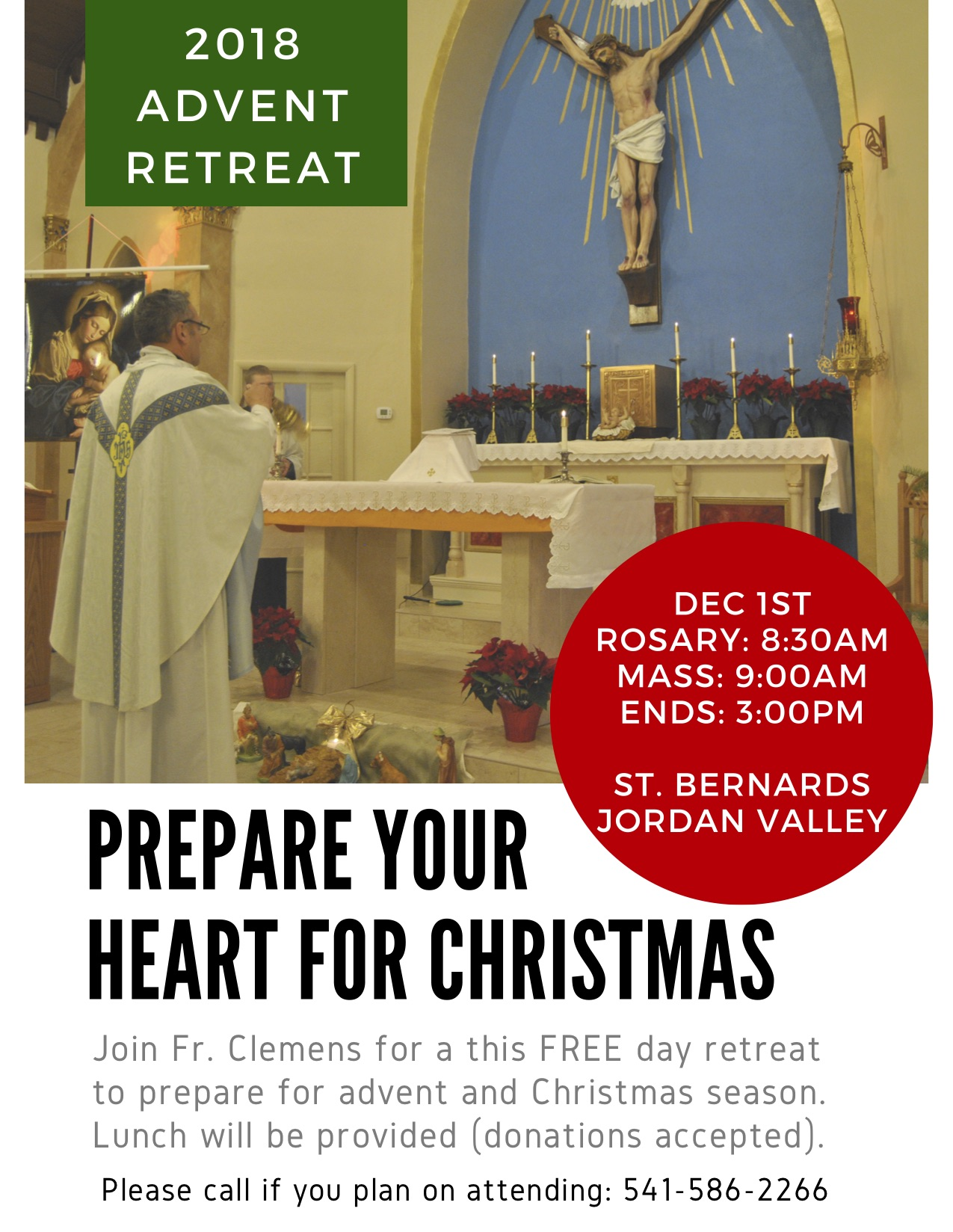 2018 Advent retreat